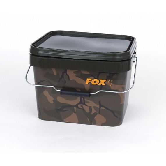 Camo Square Bucket 10l Fox