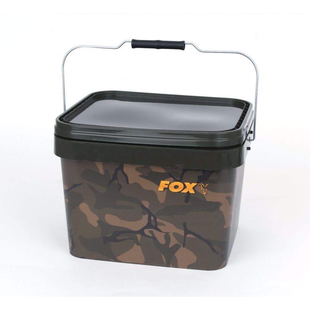Camo Square Bucket 10l Fox 2