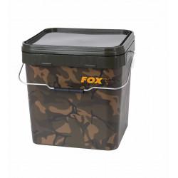 Camo Square Bucket 17l  Fox