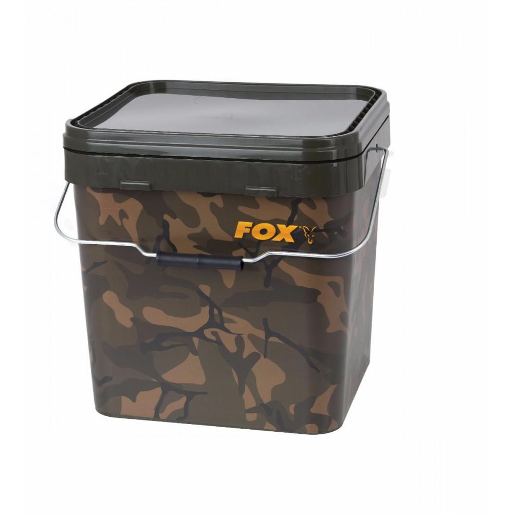 Camo Square Bucket 17l Fox 2