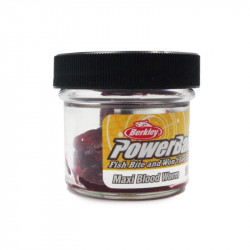 Power Bait Vase Maxi Blood Worm by 100