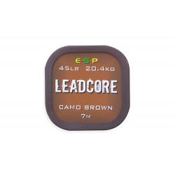 Leadcore 45lb Camo Brown 7m Esp