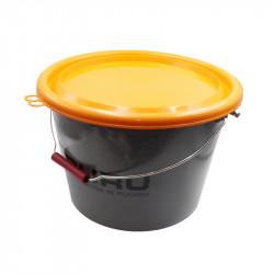 Bucket + Lid Guru 18ltr Gray