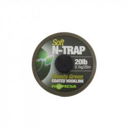 Tresse gainée N-Trap Soft 20lb Weedy Green