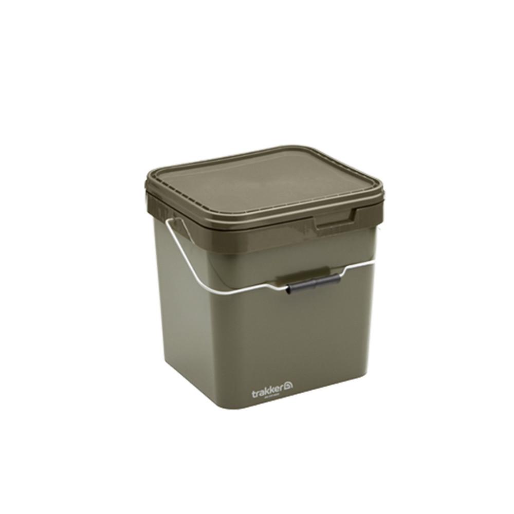 Seau Trakker Olive Square container 17litres  Trakker 1