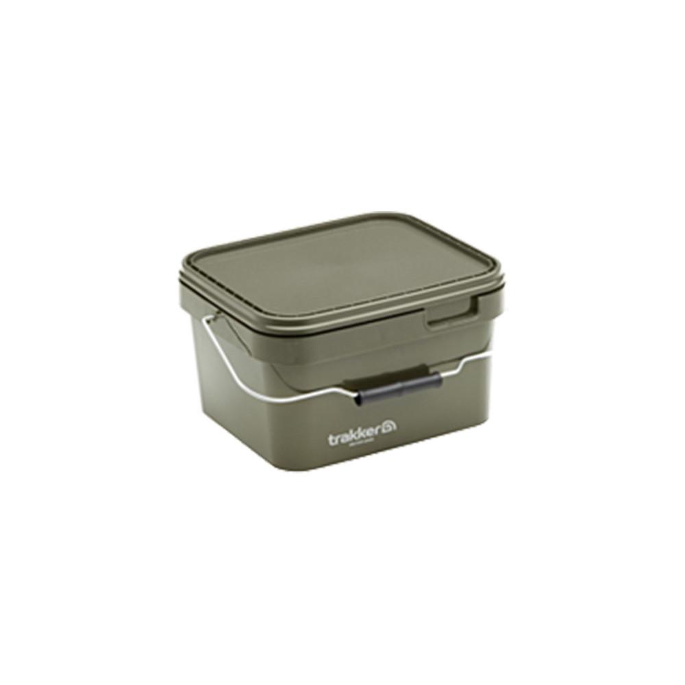 Bucket Trakker 5l Olive Square container Trakker 1