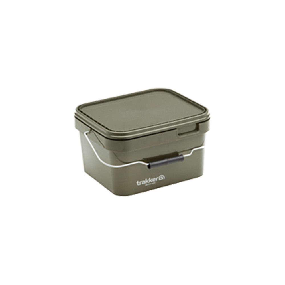 Seau Trakker 5l Olive Square container  Trakker 1