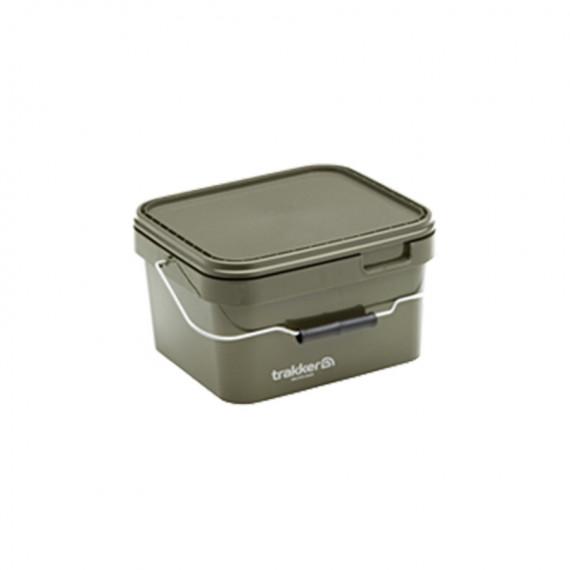 Seau Trakker 5l Olive Square container  Trakker