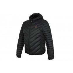 Veste Fox Collection Quilted Jacket Black/Orange