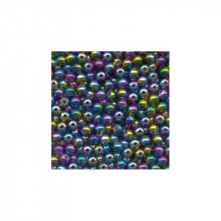 Rainbow Beads 5mm Bag Of 20 Flashmer