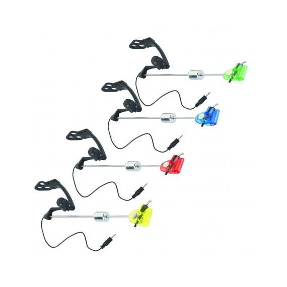 Koffer met 4 lichtgevend hangers 2