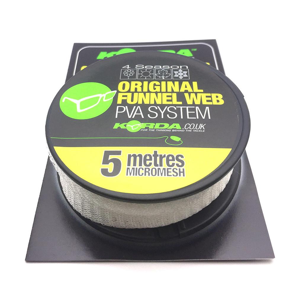 Original Funnel web 5m Pva refill Micromesh Korda 1