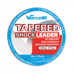 Tapered Shock Leader 15m head of line