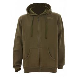 Bivvy Zone 'Zip Hoodie' Sweatshirt Green