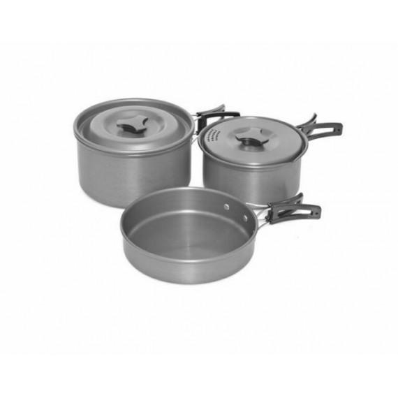 Kitchen set Trakker armo 3 piece Cookware Trakker