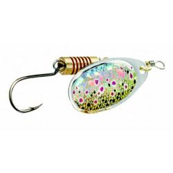 Effzett Single Hook Spoon 4gr Size 2