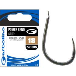 Garbolino Power Bend Carp Hooks 2430BN