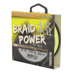 Braid Power Yellow Braid 130m Powerline