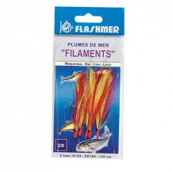 Feather filament 3HAM 1/0 red