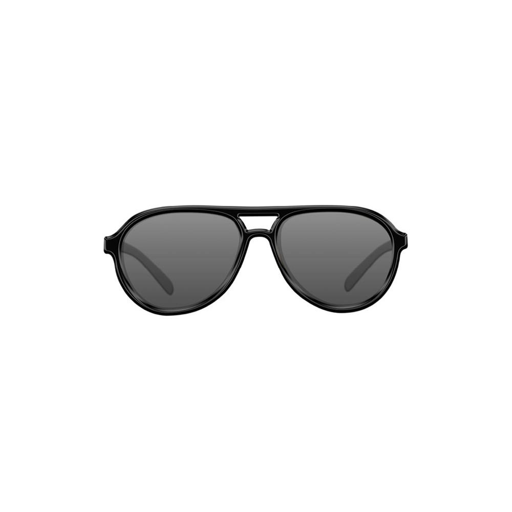 Lunettes polarisantes Aviator Mat Black Frame / grey lens Korda  1