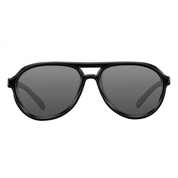 Lunettes polarisantes Aviator Mat Black Frame / grey lens Korda