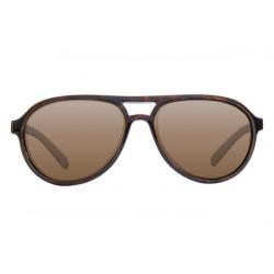 Aviator Tortoise Frame / bruine Korda gepolariseerde bril
