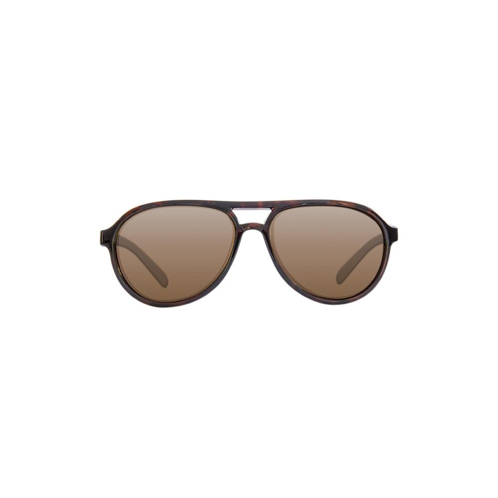 Polarized sunglasses Aviator Tortoise Frame / Brown Korda 1