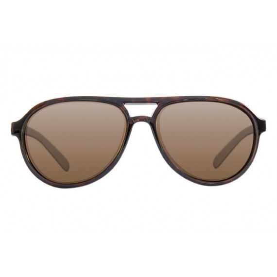 Polarized sunglasses Aviator Tortoise Frame / Brown Korda