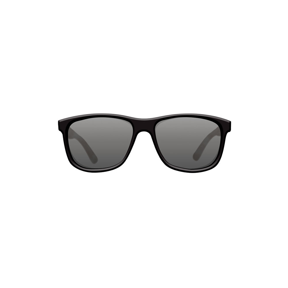 Polarized sunglasses classics matt Black shell / gray Korda 1