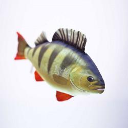 Gaby Fish Perch 50cm Fish Pillow