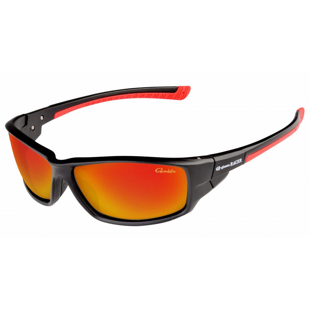 Polarized sunglasses Gamakatsu Racer g-glass Racer gray / Red mirror 1