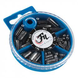 Box of Leads Styl lead Filfishing 100gr 5 sizes