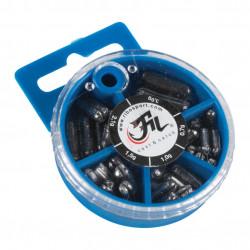 Box of Leads Styl lead Filfishing 70gr 5 sizes