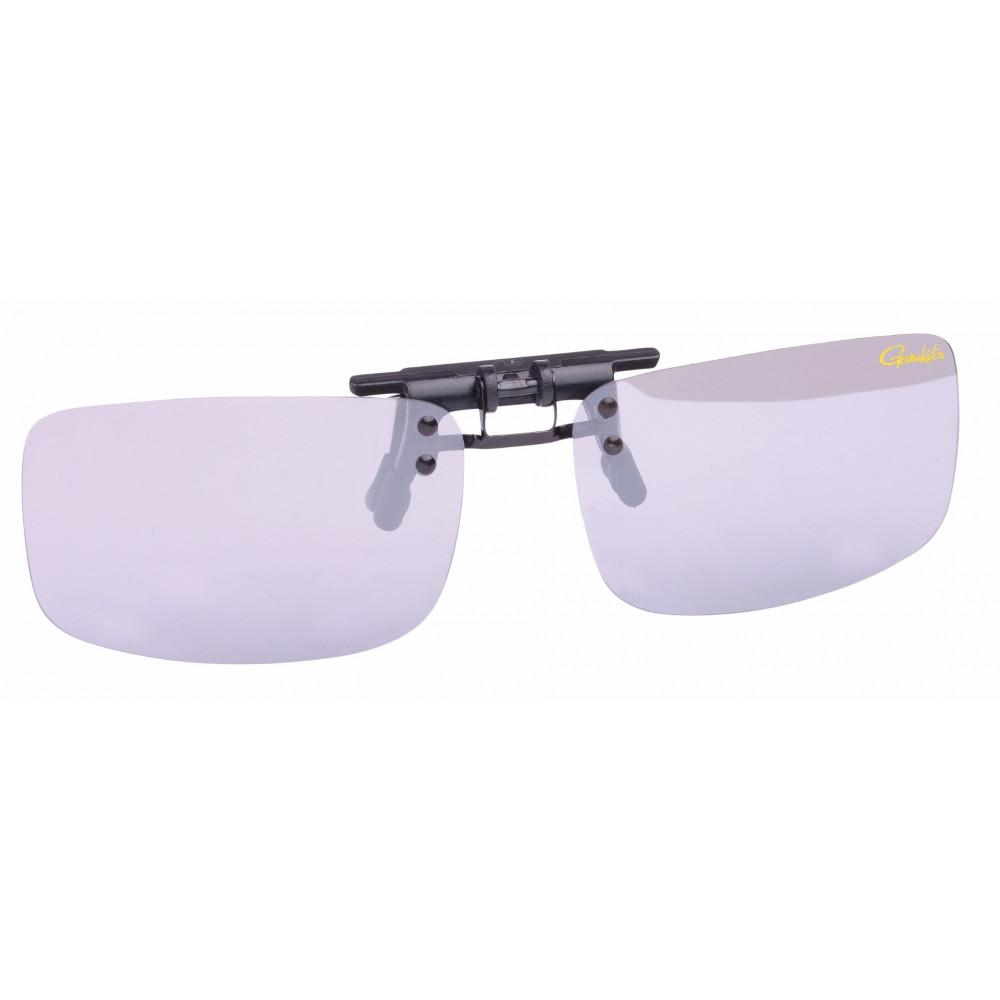 On Gamakatsu Clip Light gray / mirror glasses 1