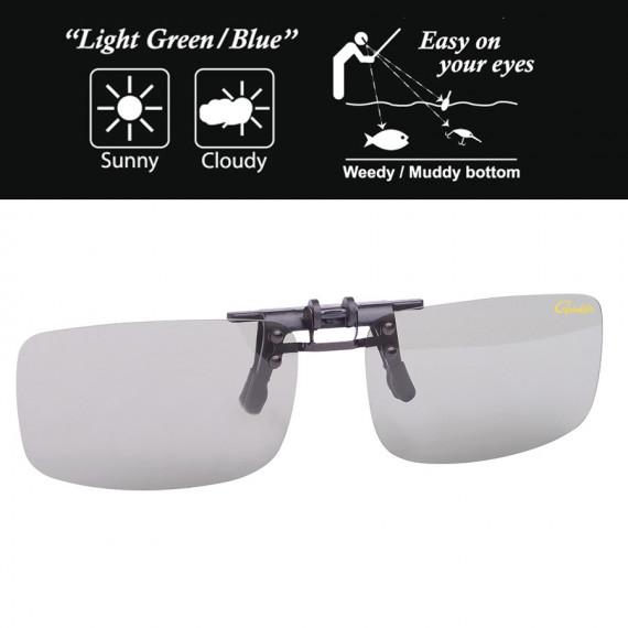 On Gamakatsu Light Green / Blue glasses 3