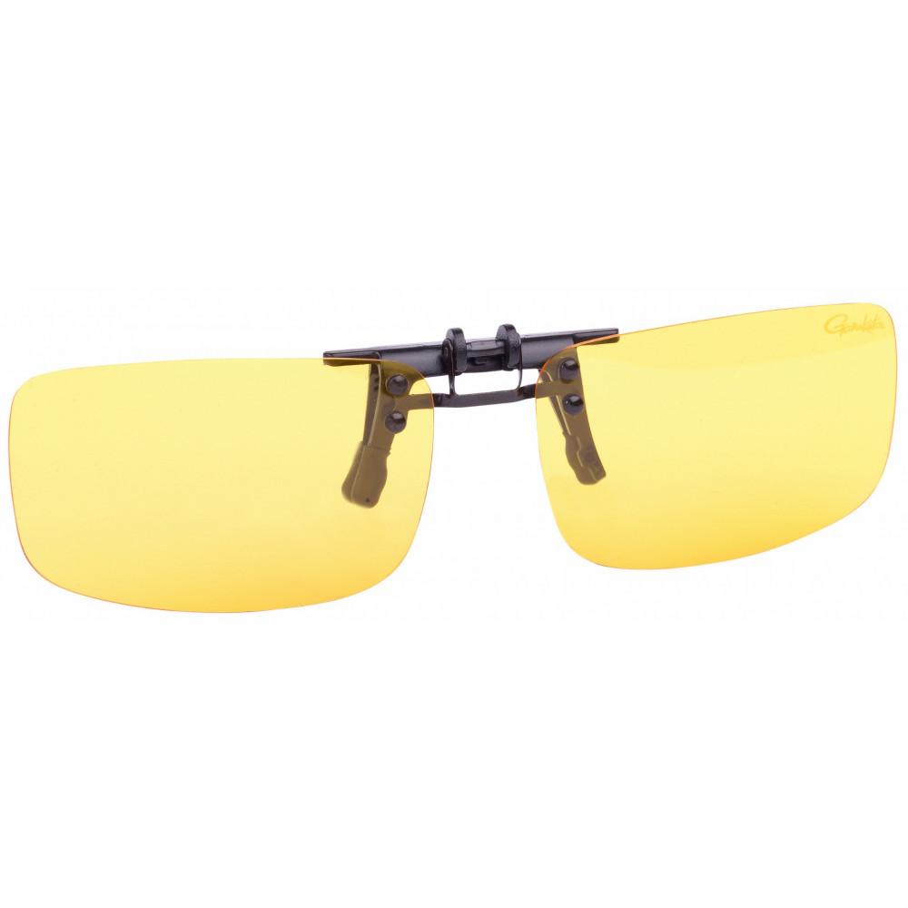 On Gamakatsu Clip Amber glasses 1