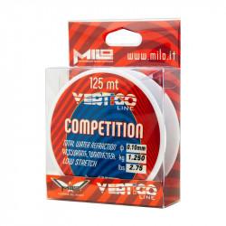Monofilament Vertigo Competition 125m Milo