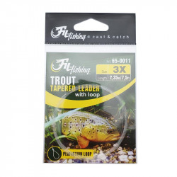 Nylon Trout Tapered leader Filfishing 2.75m
