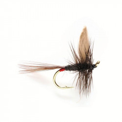 Dry fly - Winged Dry Flie Iron Blue Dun 0518 N.14