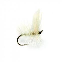 Dry Fly - Winged Dry Flie White Moth 0533 N.16