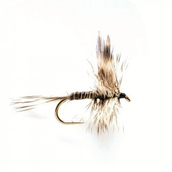 Dry Fly - Winged Dry Flie Mosquito 1750 N. 16