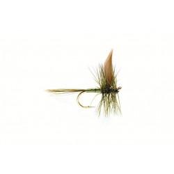 Dry Fly Winged Dry Flie Large Dark Olive