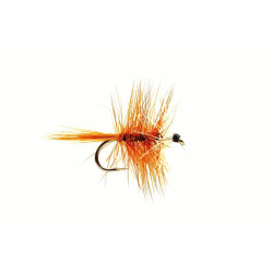 Dry Fly Hackled Dries Bi-Visible Brown