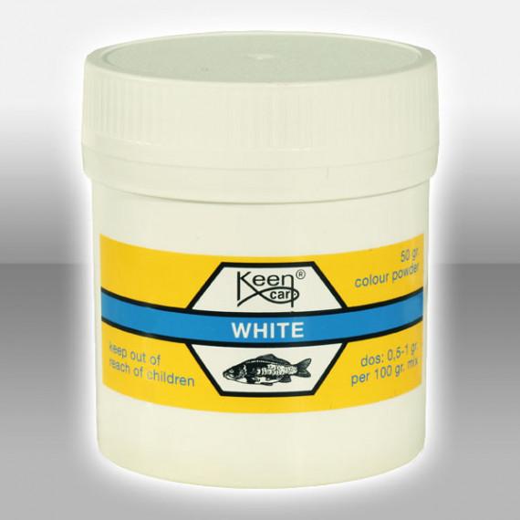 White coloring 15 gr white Keen carp