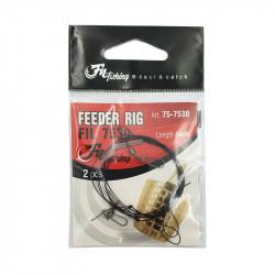Feeder leader 40cm by 2 Filfishing
