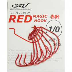 Hameçon Odz Red Magic Hook Maruto
