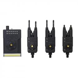 Fulcrum Rmx Pro Bite Alarm Set 3 + 1 Multicolor Prologic