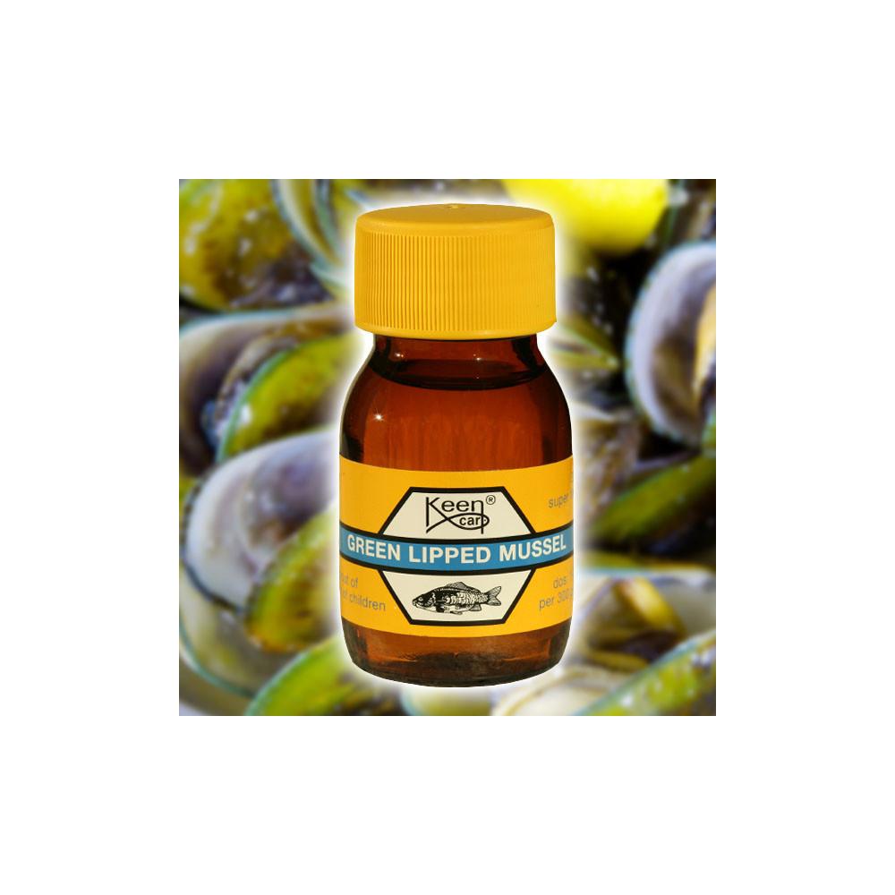 Green lipped Mussel 30 ml Keen Carp 1