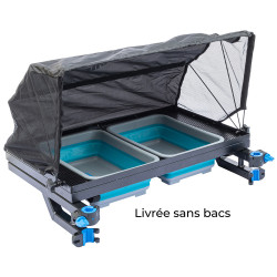 XXL Trolley For 2 Compactable Bins With Tent Garbolino