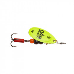 Spoon Fluo Spinner T2 4g Sinking Yellow